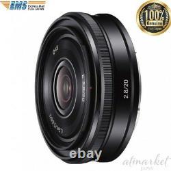 Sony SEL20F28 Single Focus Lens E 20 mm F 2.8 for Sony E mount JAPAN