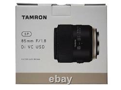 TAMRON Single Focus Lens SP85 mm F1.8 Di VC USD Full Size for Canon F016E New