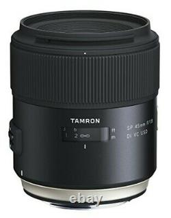 TAMRON single focus lens SP45mm F1.8 Di VC for Canon full-size F013E