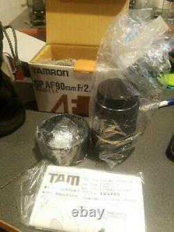 TAMRON single focus macro lens SP AF90mm F2.8 Di MACRO 1 1 for Nikon full size