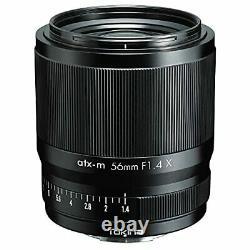 Tokina Single Focus Medium Telephoto Lens atx-m 56mm F1.4 X FUJIFILM X Mount