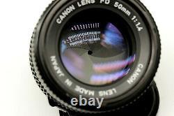 Vintage 50mm Canon Canon FD 11.4 Single Focus Lens JN23