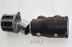 Vintage Hilux Variable 152 Anamorphic CinemaScope Projector SINGLE FOCUS LENS VG