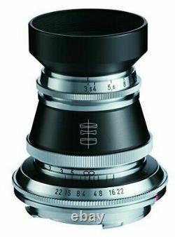 VoightLander Voigtlander single-focus lens HELIAR Vintage Line 50m 130449