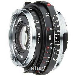 VoightLander single focus wide angle lens COLOR-SKOPAR 35mm F2.5 PII 13071 NEW