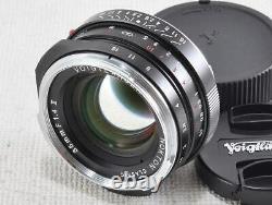 Voigtlander NOKTON Classic 35mm f1.4 II MC VM EXCELLENT from Japan (18378)
