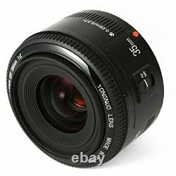YONGNUO YN 35 mm F 2 single focus lens Cannon EF mount full size compatible wide