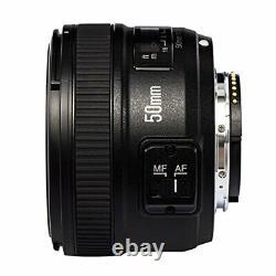 YONGNUO YN 50 mm F 1.8 N single focus lens Nikon F mount full size compatible