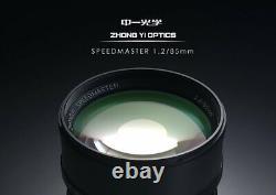 ZHONG YI OPITCS single focus lens SPEEDMASTER 85mm F1.2