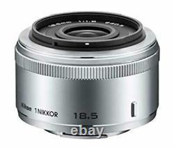 1 Nikkor 18.5mm F / 1.8 Silver Nikon CX Format Que L'objectif De Mise Au Point Unique
