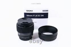 2018 Sigma Lentille Unique Objectif 56mm F1.4 DC Dn Contemporain Pour Micro Four Thirds