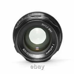 7 Artisans 35mm F1.2 Single Focus Length Manual Eos M Mount Fix Lens Pour Canon