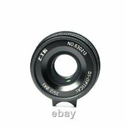 7 Artisans 35mm F2.0 Longueur D'axe Unique Manuel M Mont Prime Lens Pour Leica