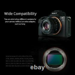 7 Artisans 35mm F2.0 Single Focus Length Manual E Mount Prime Lens Pour Sony
