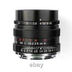 7artisans 35mm F1.4 Full Frame Single Focus Prime Lens F Canon Nikon Sony Camera