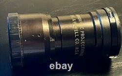 B&h 2x Objectif Projecteur Anamorphique // Single Focus! Pince Arrière Incluse // Rare