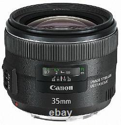 Canon Ef35mm F2 Is Usm Simple Mise Au Point D'objectif 35 F / 2.0 Nouveau Du Japon