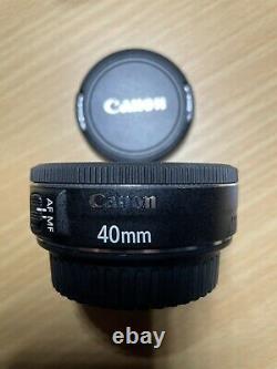 Canon Ef40mm F2.8 Stm Lentille À Foyer Unique