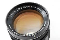 Canon Lens 85mm 1.8 L39 Canon Leica Leica Single Focus Mf