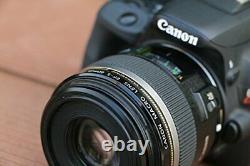 Canon Monofocus Macro Objectif Ef-s60mm F2.8 Macro Usm Aps-c Compatible Nouveau F/s