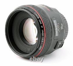 Canon Monofocus Standard Lens Ef50mm F1.2l Usm Full Size Srom Japon Nouveau
