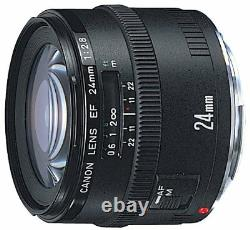 Canon Objectif À Angle Large Simple Ef 24 MM F 2.8 Compatible Pleine Taille
