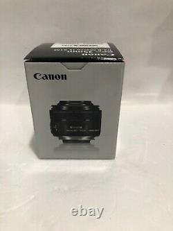 Canon Single Focus Macro Lens Ef-s35mm F2.8 Macro Is Stm Aps-c Compatible Nouveau