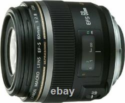 Canon Single Focus Macro Lens Ef-s60mm F2.8 Macro Usm Aps-c Ef-s6028mu