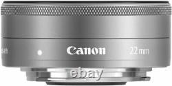 Canon Single Focus Objectif Grand Angle Ef-m22mm F2 Sans Miroir Unique Ef-m222stms Nouveau