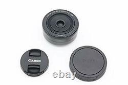 Canon Single Focus Objectif Grand Angle Ef-m22mm F2 Stm Mirrorless Slri-2
