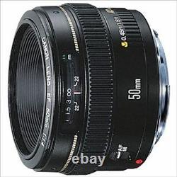 Canon Single Focus Standard Lens Ef50mm F1.4 Usm Du Japon Nouveau