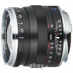 Carl Zeiss Objectif Planar Objectif T2/50zm Bk Noir 50mm F/2 Ems Avec Suivi