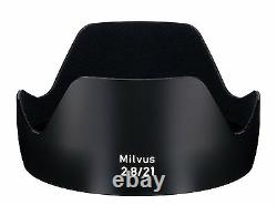 Carl Zeiss Single Focus Lens Milvus 2,8 / 21 Zf. 2 Noir Pour Nikon F Mount New