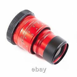 Configuration Isco Micro Rouge Objectif Anamorphique V3.5 Premium Simple Focus, Pour Les Appareils Photo Reflex