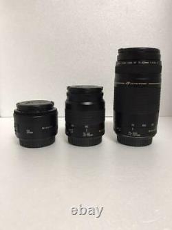 Excellent Canon Eos 7d Mark II Single Focus, Standard Et Téléobjectif Triple Objectif