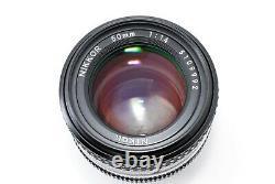 Excellent+++nikon Ai-s Nikkor 50mm F/1.4 #013 Du Japon
