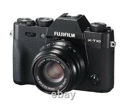 Fujifilm Foyer Unique Objectif Standard Xf 35 MM F 2 R Wr B Noir Du Japon