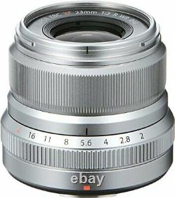 Fujifilm Mono-focus Large Angle Lens Xf23mmf2 R Wr S Argent