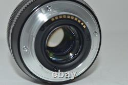 Fujifilm Xf 18mm F2 R Objectif De Focalisation Unique Pour Mono-lentilles Pour Caméra #16266