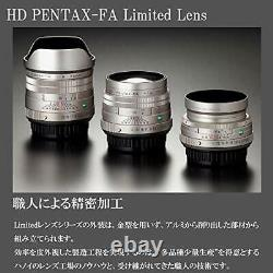 Hd Pentax-fa 43mmf1.9 Limité Standard Objectif Monofocus K Mount Black 20150