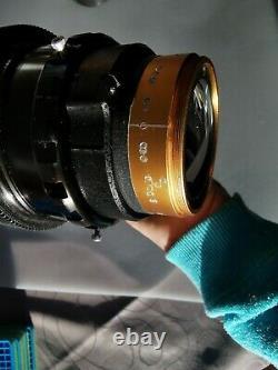 Isco Es Cinelux 2x Anamorphic + Rectilux Ff3 Single Focus + Clamp & Lens Collar