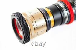 Isco Micro Single Focus Anamorphic Lens Kit Complet Pour Dslr & Caméras Cinéma