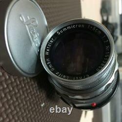 Leica Summicron 50mm F2 M 151 Serieslens Single Focus Livraison Gratuite Du Japon