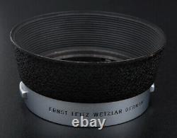 Leica Summilux-m 50mm F1.4 E43 Silver Germany Xooim Est Livré Avec Casquettes Et Capot