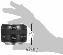 Lens Canon Single Focus Standard Ef50mm F1.4 Usm Du Japon