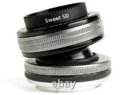 Lensbaby Compositeur Pro II Sweet 50 Lens Pour Nikon Japan Ver. Nouveau/liberté D'expédition