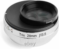 Lensbaby Single Focus Lens Trio 28 28mm F3.5 Fujifilm X Mount Avec Suivi Nouveau