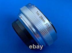 Lensbaby Trio 28 Single Focus Lens 28mm F3.5 Fujifilm X Mount En Boîte
