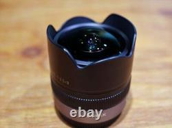 Lentille À Oeil De Poisson Panasonic Micro Four Thirds Lumix G Fisheye 8mm/f 3.5