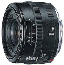 Lentille De Focalisation Unique Canon Ef 35 MM F 2 Compatible Avec La Pleine Taille